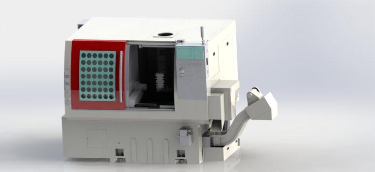 Drehmaschine Fräsmaschine Metallindustrie Fertigungsautomation Robotik Zerspanung