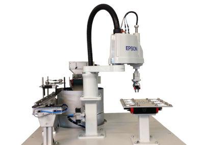 Zufuehrtechnik Roboter Autonomie Scara Automation