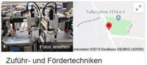 zuführ- und fördertechniken Google Maps